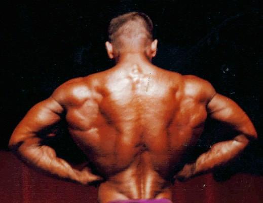 Bodybuilder Gerald Gore back image