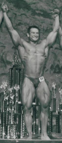 Bodybuilding most muscular pose